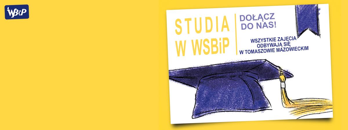 Studiuj w WSBiP w Tomaszowie Maz